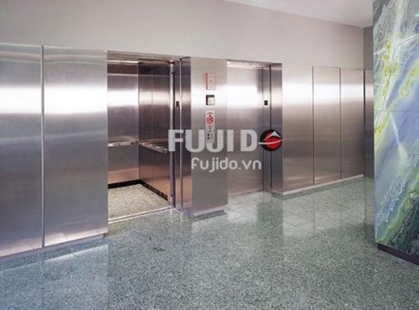 Địa chỉ cung cấp tấm inox ốp thang máy