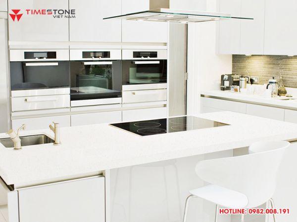 Lựa chọn đá nhân tạo ốp bàn bếp như thế nào cho hợp phong thủy?
