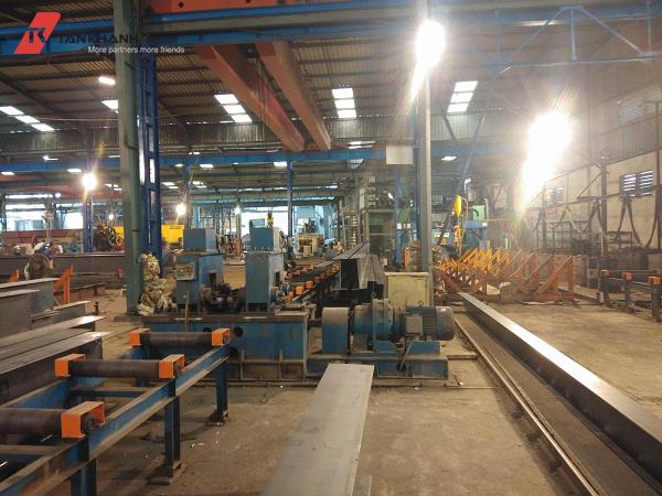 quy trình sản xuất nhà thép tiền chế