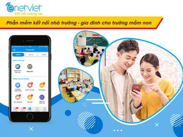 eNetViet - Phần mềm kết nối gia đình nhà trường được nhiều trường mầm non tin dùng
