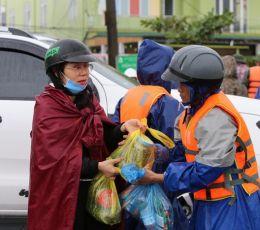 Quảng Bình: Tập trung tiếp tế lương thực thực phẩm cho người dân