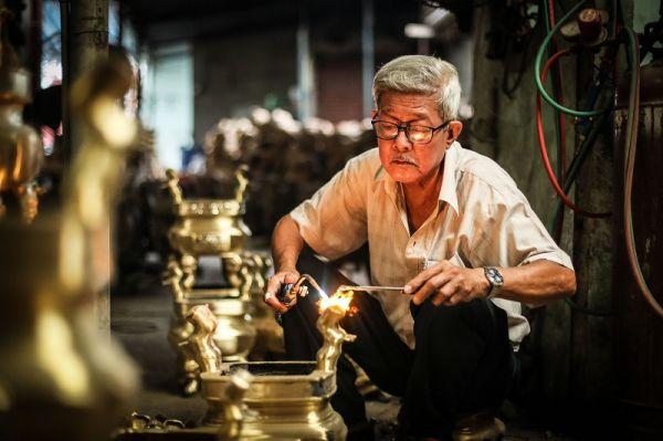 Nghề đúc đồng - Dấu ấn văn hóa 4000 năm của người Việt