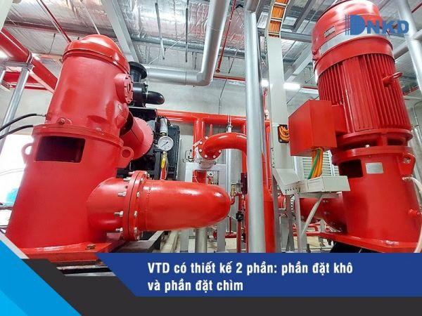 Máy bơm Turbine trục đứng VTD